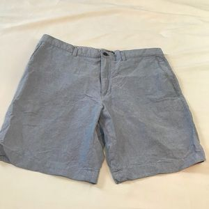 BANANA REPUBLIC MENS 38 LIGHT BLUE SHORTS